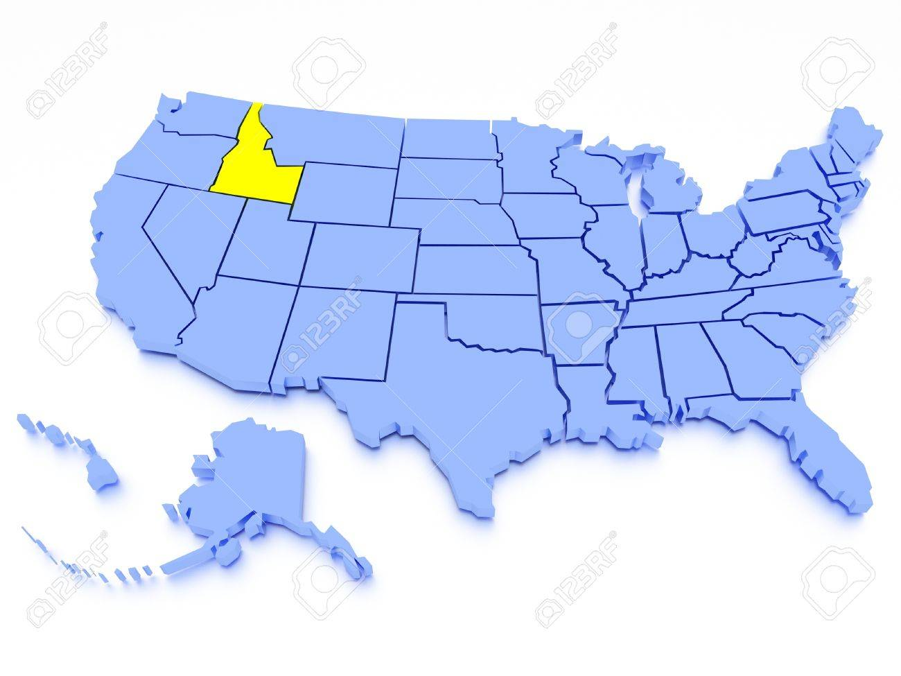Where Is Idaho State Where Is Idaho Located In The US Map Idaho - Idaho on a us map