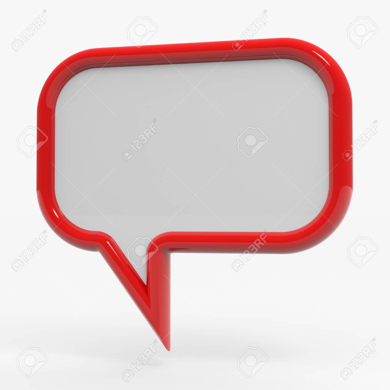 Bubble talk. Computer generated image. Stock Photo - 10504543