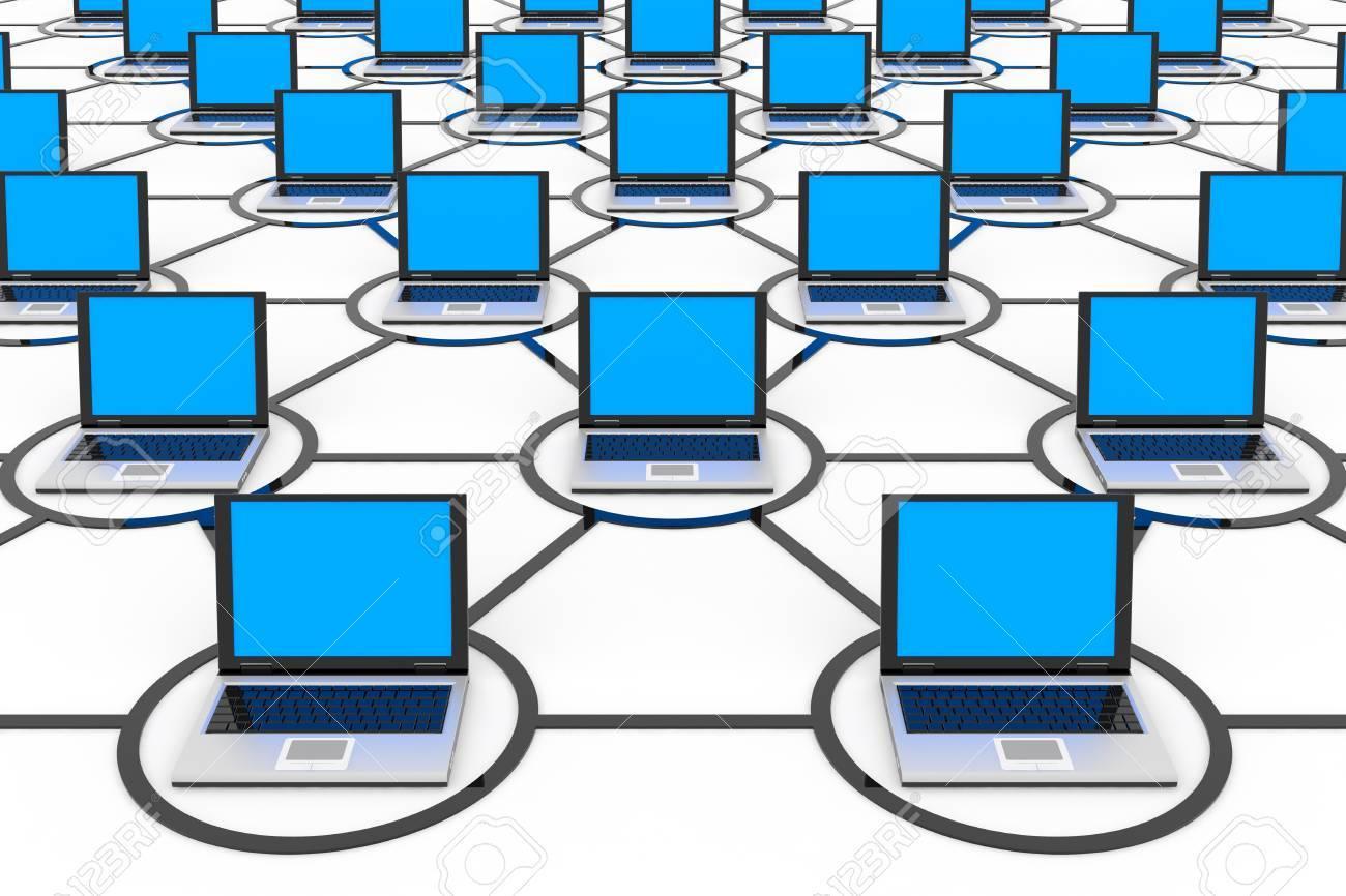 抽象的なコンピュータ ネットワ...