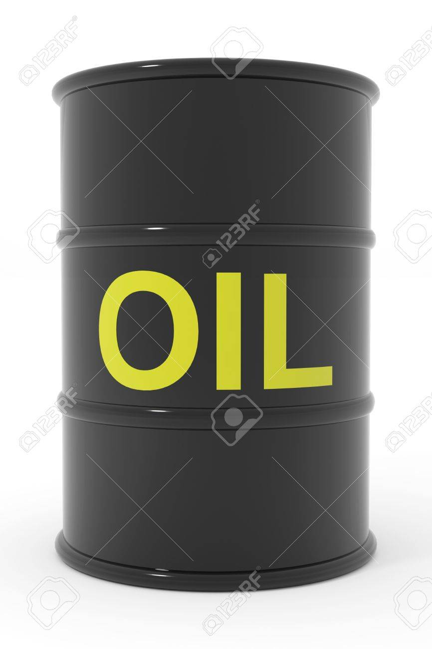 Oil barrel. Computer generated image. Stock Photo - 13024079