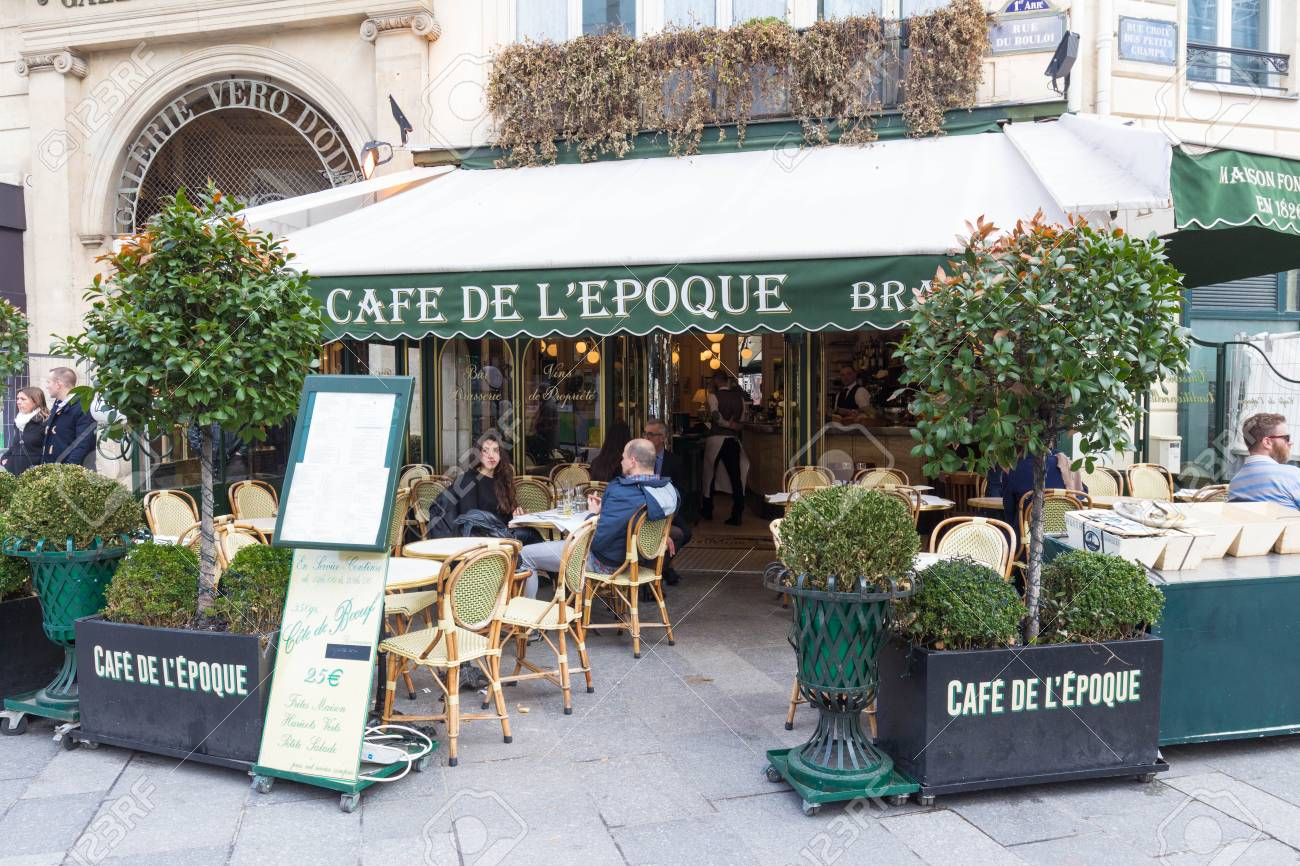 The Vintage Cafe De Belle Epoque Paris France Stock Photo Picture And Royalty Free Image Image 101633960