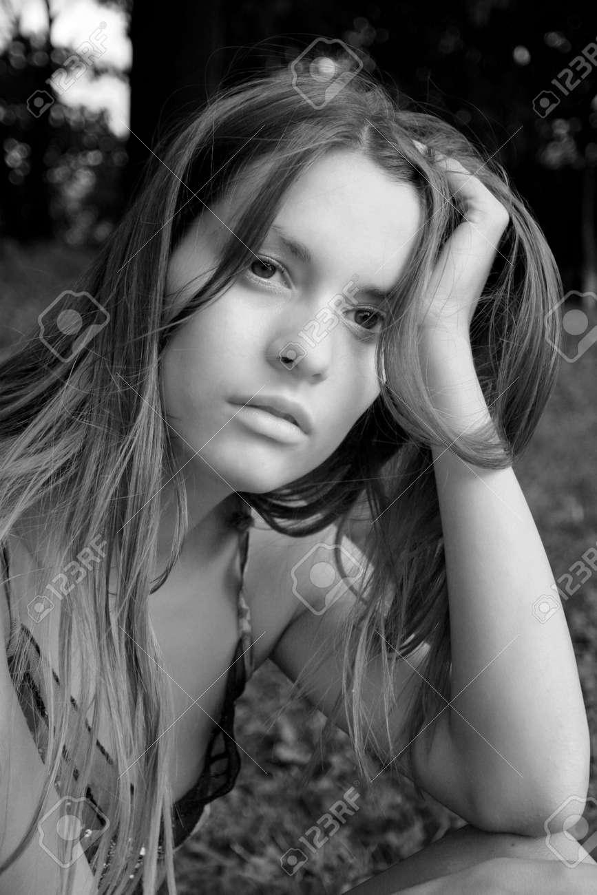 Portrait of the girl Stock Photo - 270097