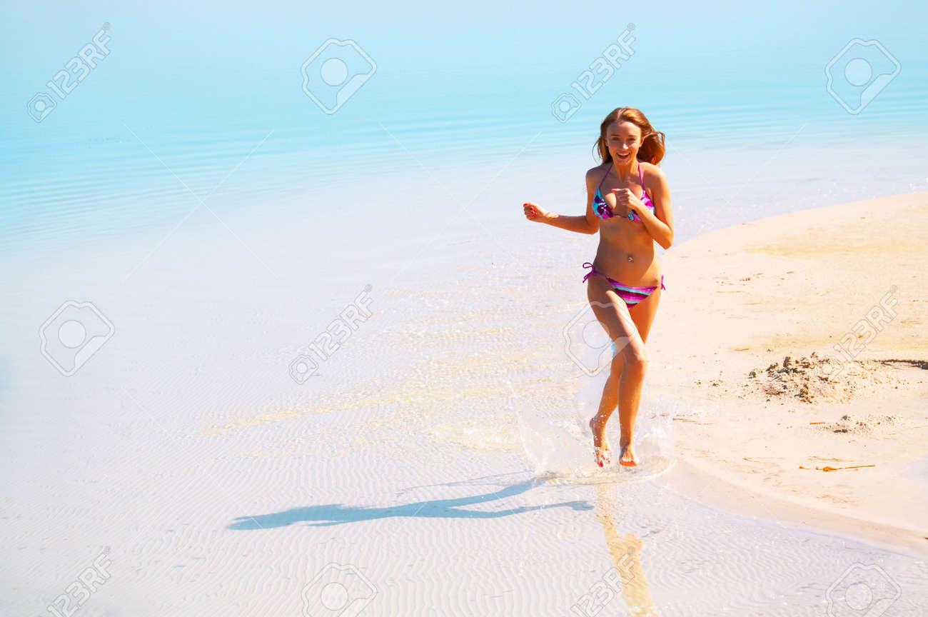 Running on water Stock Photo - 1304002