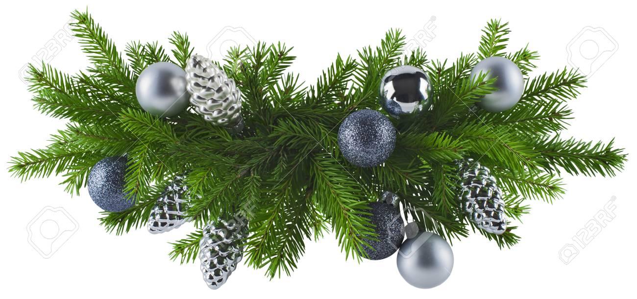 Decoration Pour Menu De Noel.Noel Element De Decoration D Argent Pour La Conception De Menu Celebration Invitation Affiche