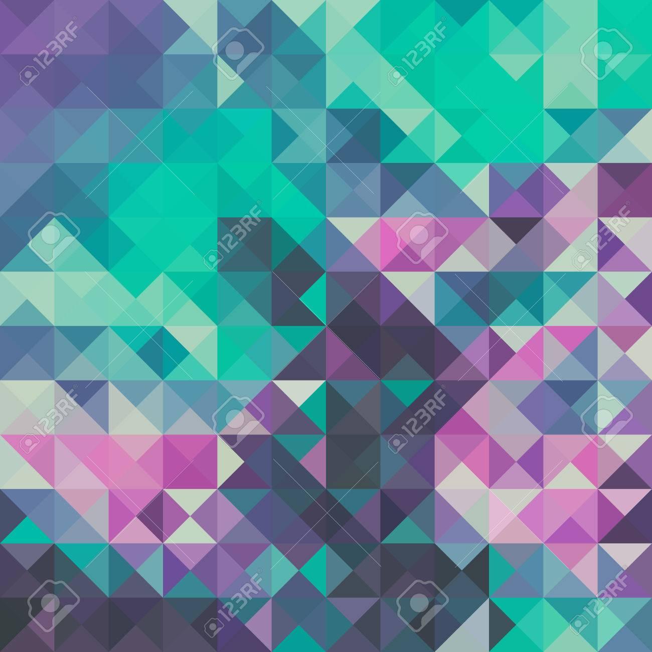 Triangolo Sfondo Verde E Viola