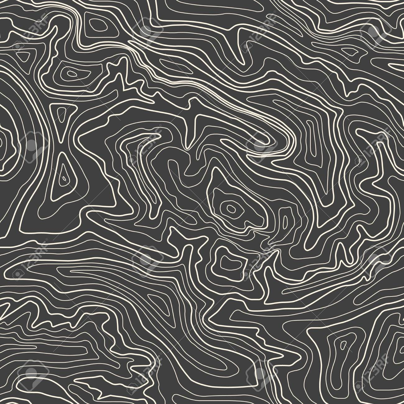 Topographic Map Vector Free.Topographic Map Vector Illustration Seamless Pattern Royalty Free