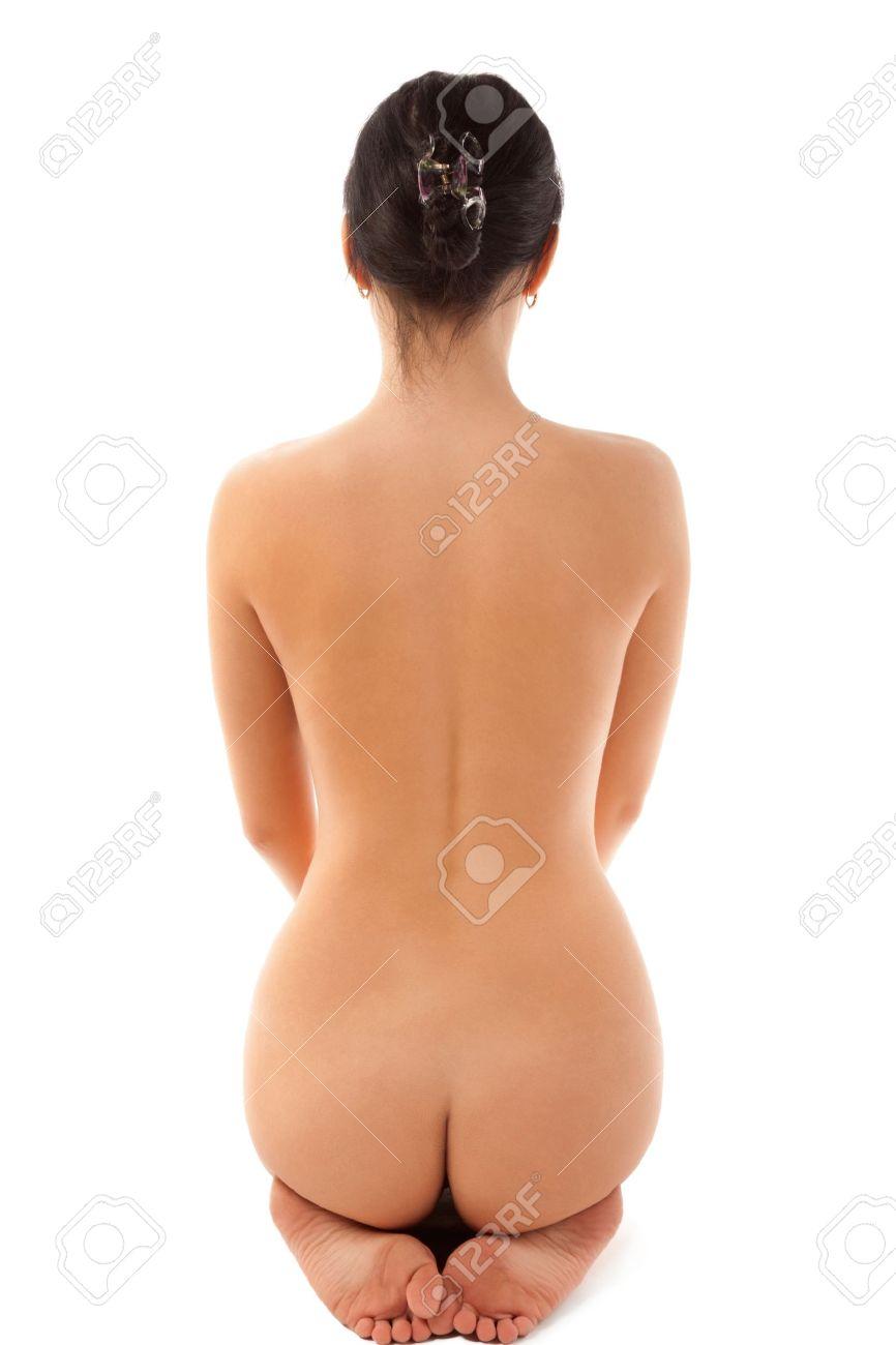 Сидящие на коленях голые женщины 15 фотография