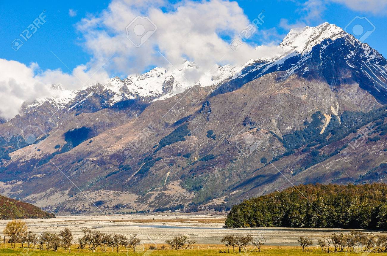 Colorful Mountains In Lord Of The Rings Film Location Glenorchy
