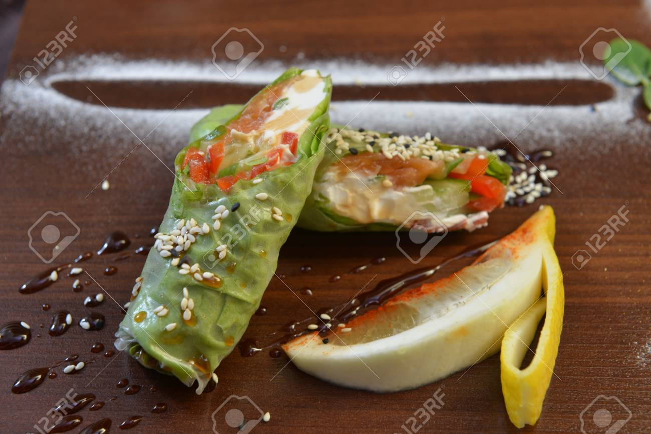Restaurant Food Catering Buffet Served Dishes Restaurant Stock Photo Picture And Royalty Free Image Image 96748027
