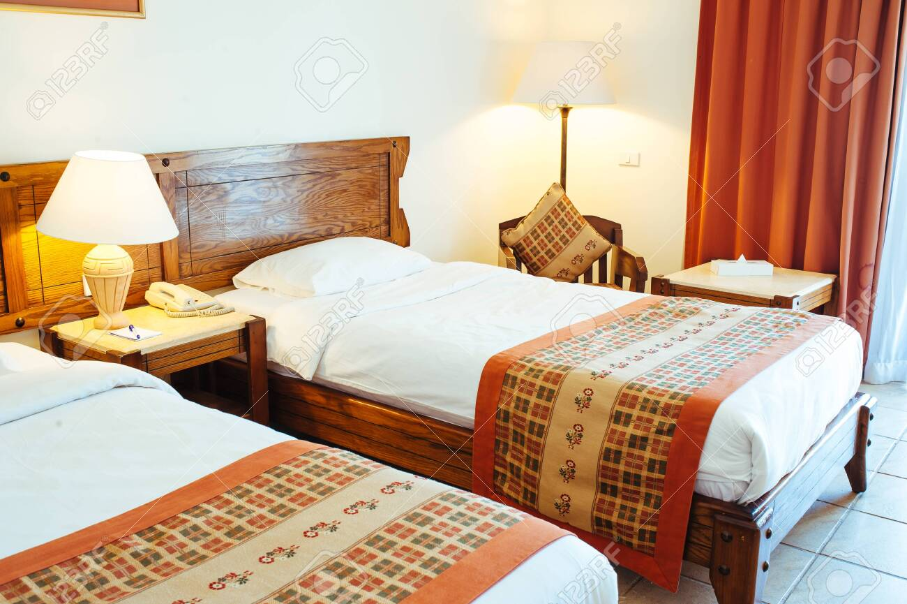 Interior detail from a 5 star luxury hotel resort near Hurghada, Egypt. - 155651526