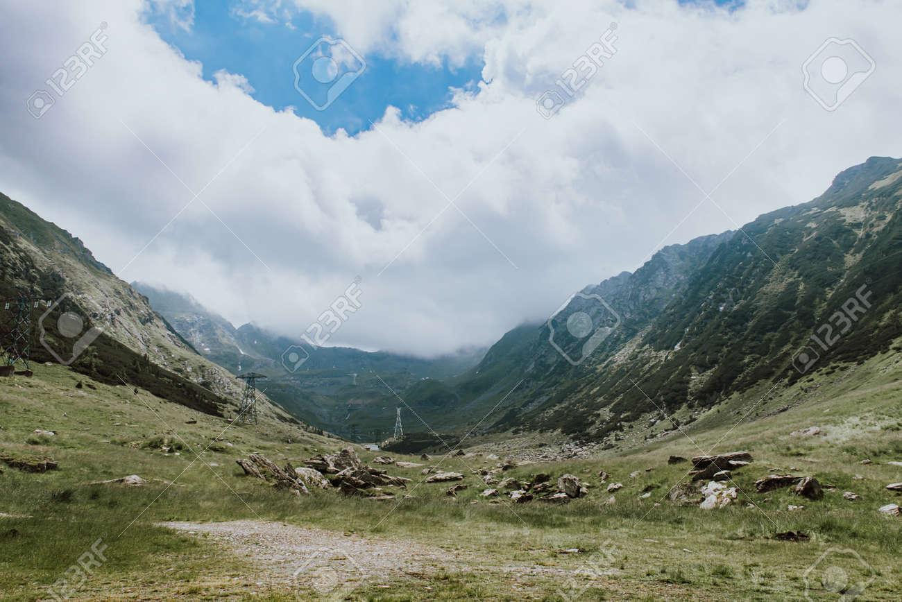 Transfagaras Highway, beautiful landscape of Romania. europe hiking - 155651779
