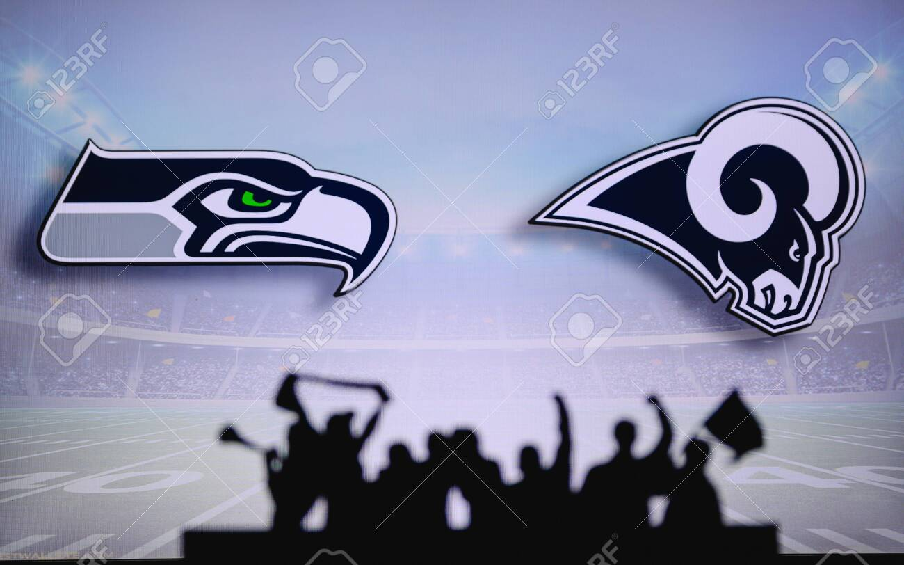Seattle Seahawks Vs Los Angeles Rams Fans Support On Nfl Game Stock Photo Picture And Royalty Free Image Image 151160448