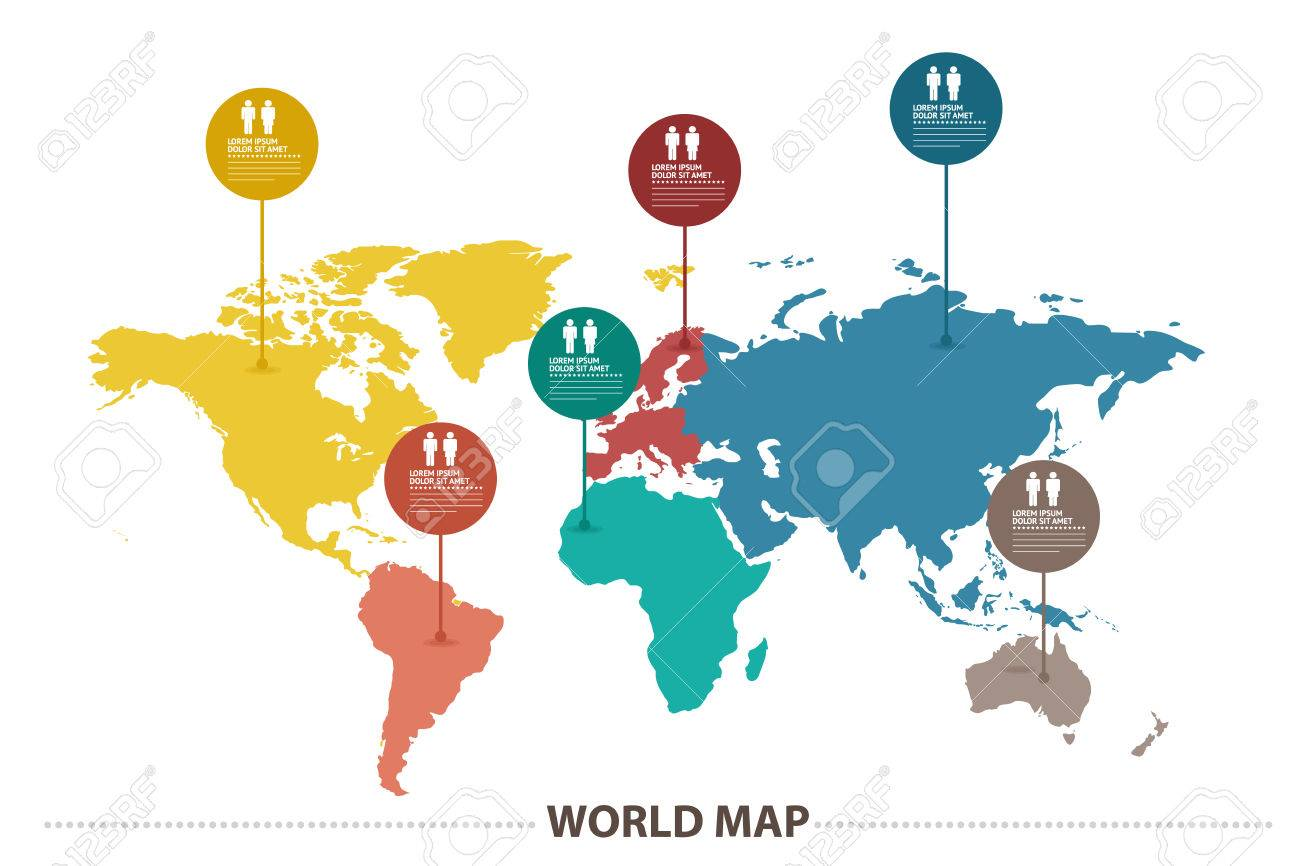 World map royalty free cliparts vectors and stock illustration vector world map gumiabroncs Images