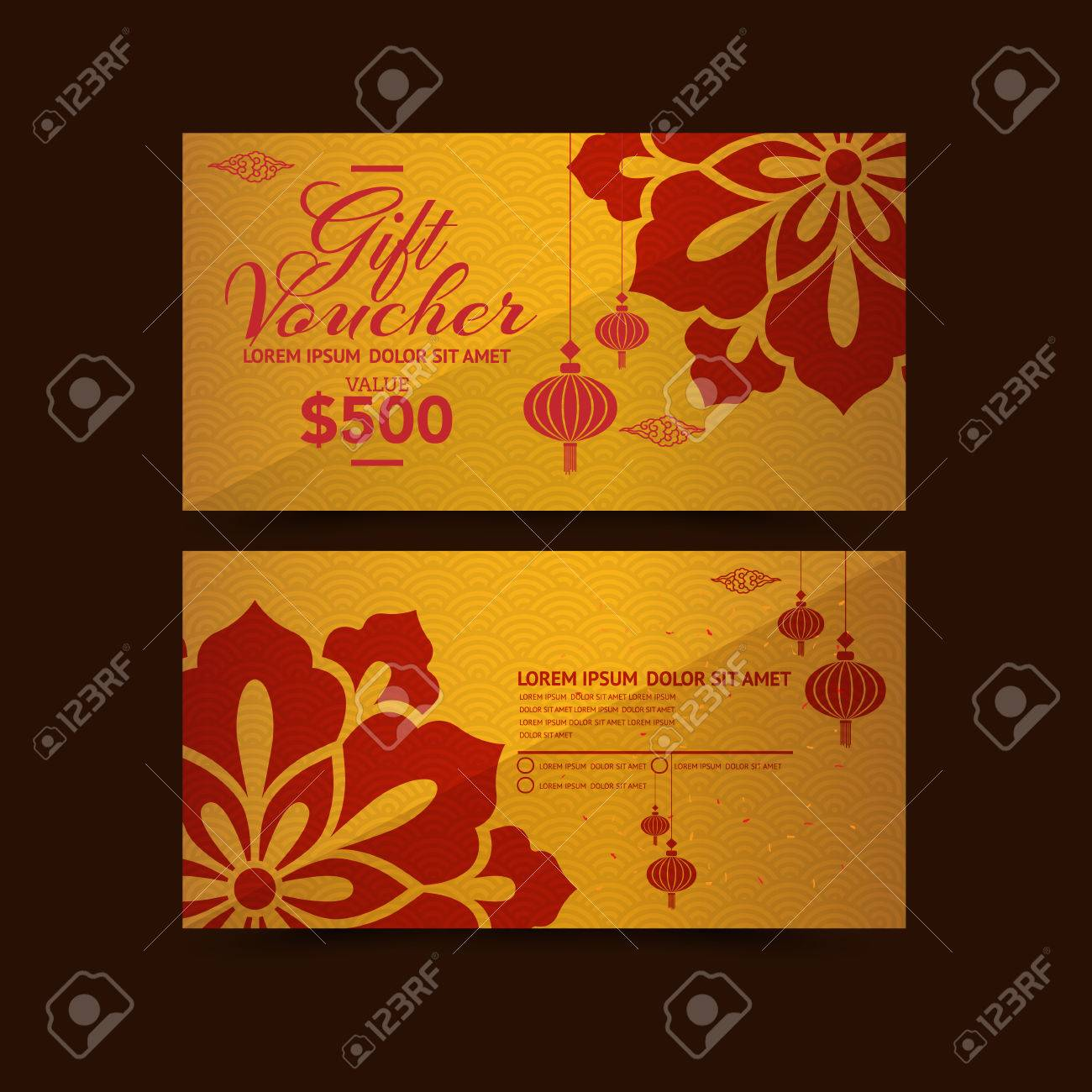 Chinese new year gift voucher design template royalty free chinese new year gift voucher design template stock vector 50570851 yelopaper Gallery