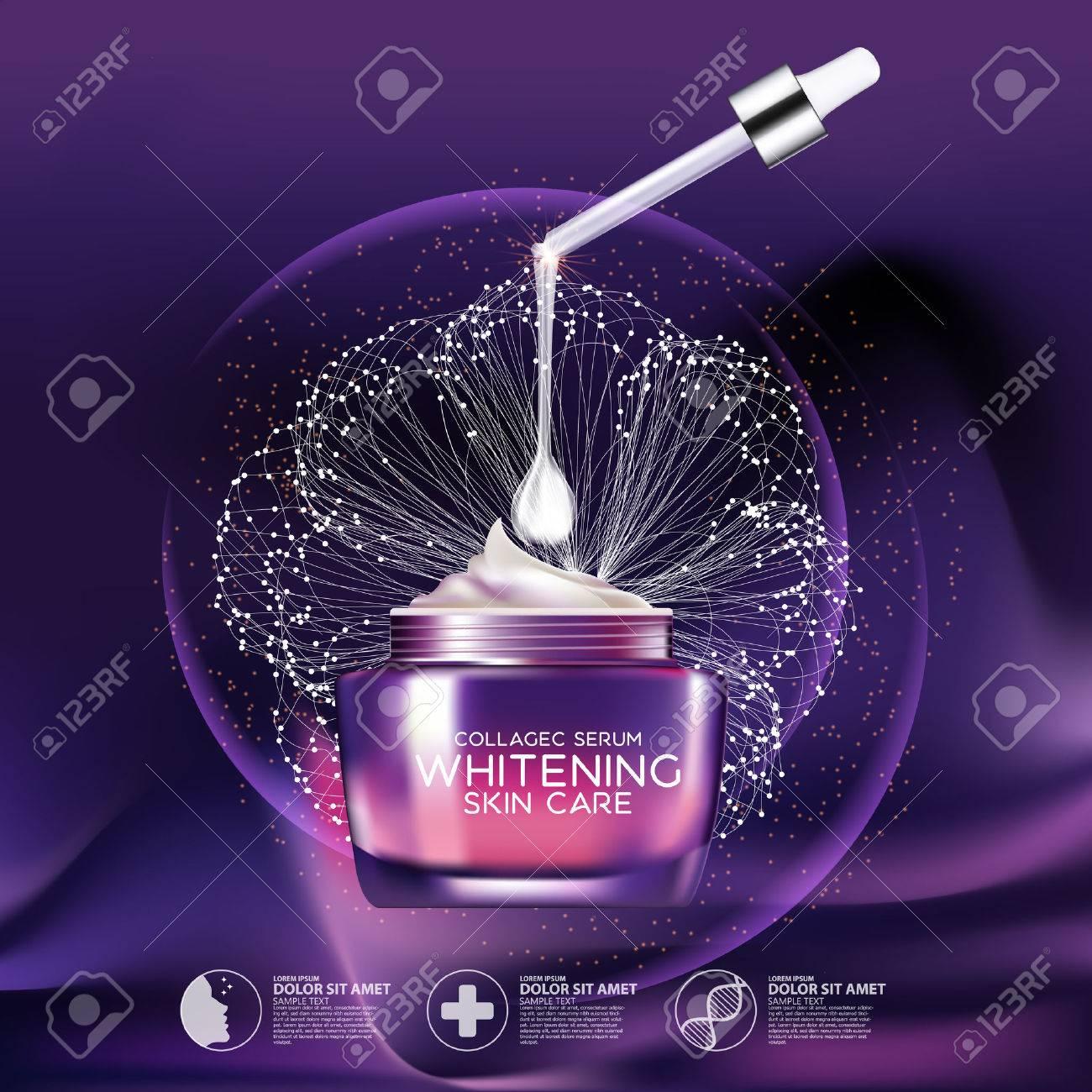 Collagen Serum Background Concept Skin Care Cosmetic - 59890754