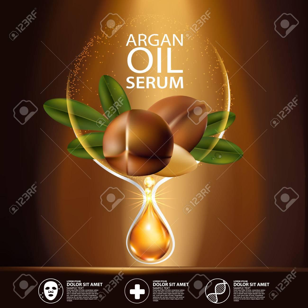 argan oil Serum Skin Care Cosmetic. - 66440466