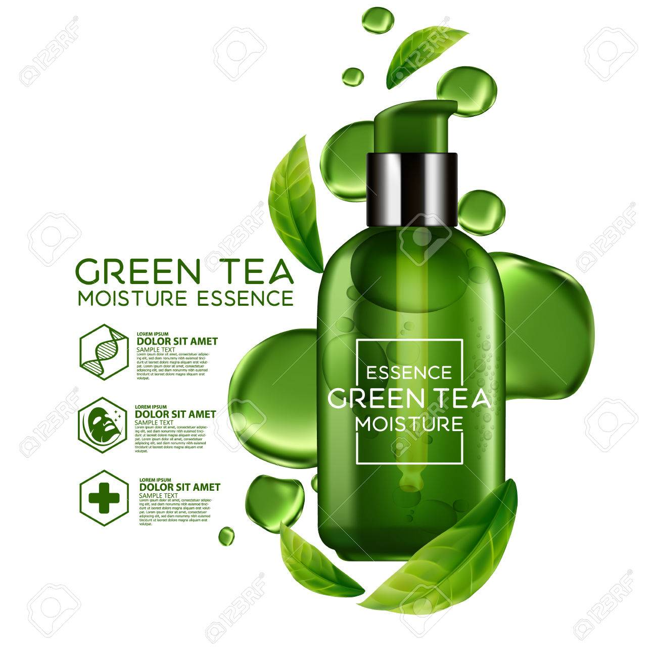 té verde para hidratar la piel