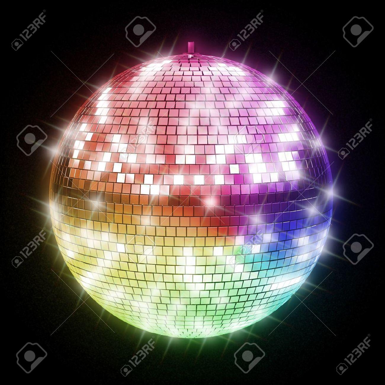 colorful disco ball Stock Photo - 12330865