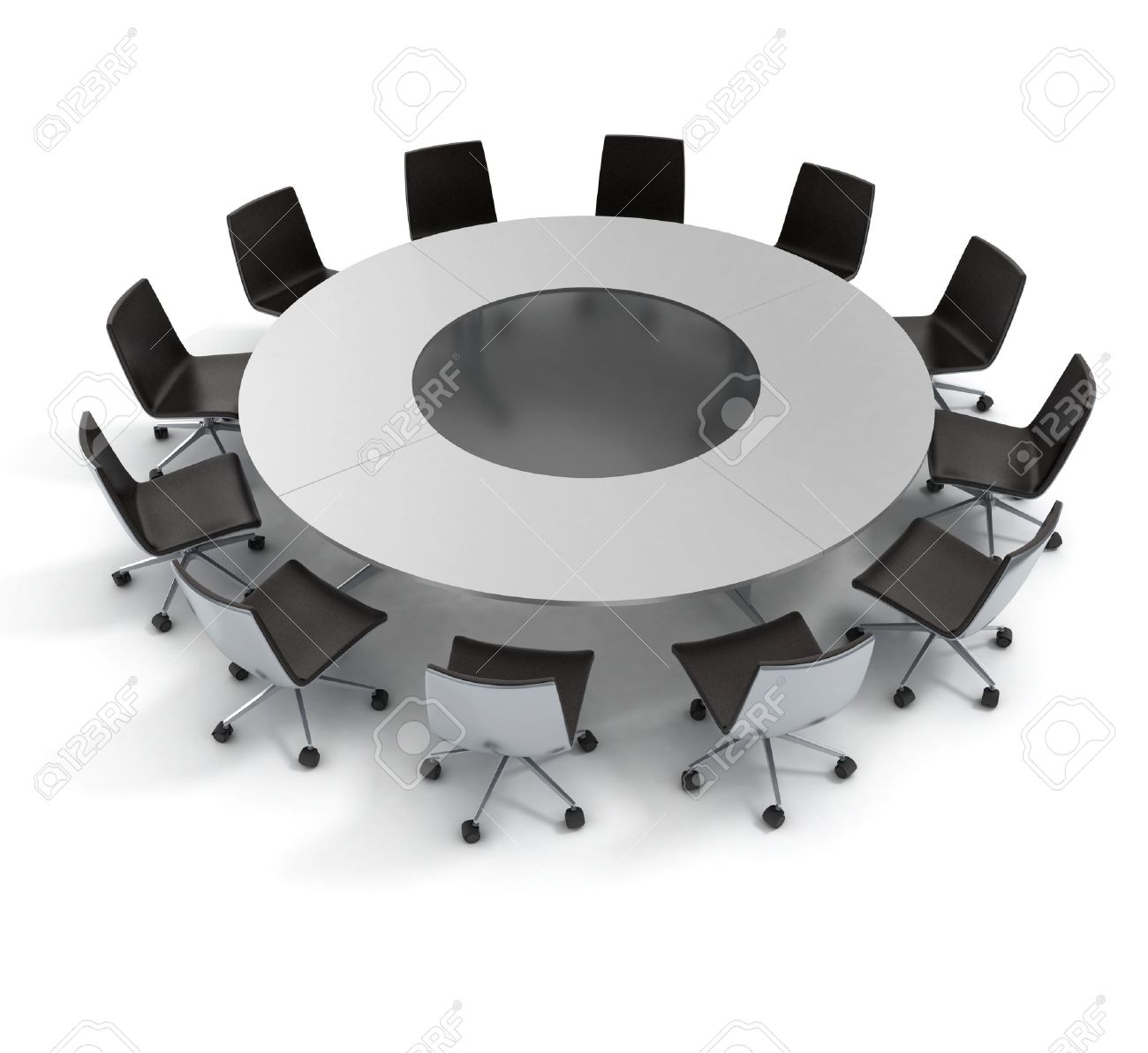 Round table meeting icon - Round Table Meeting Icon Conference Table Round Table Diplomacy Conference Meeting 3d Concept Stock Photo