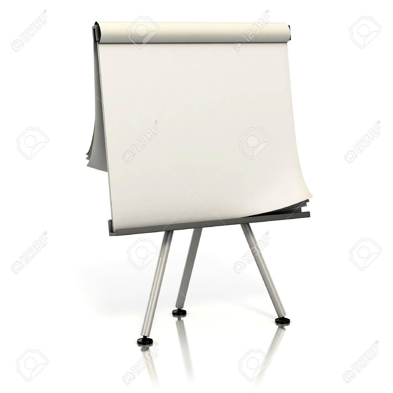 blank presentation board Stock Photo - 12331041