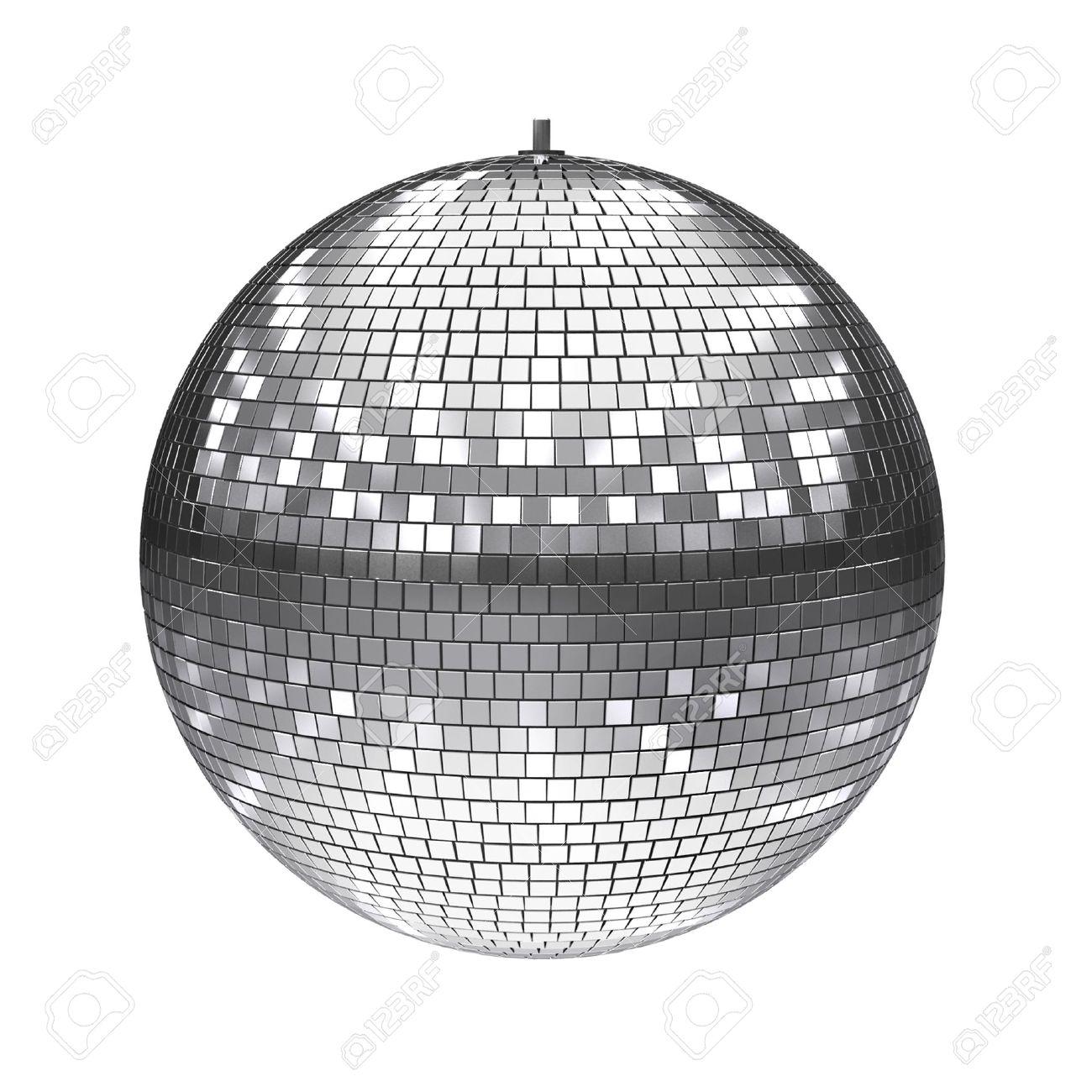 disco bal geà soleerd op wit royalty vrije foto plaatjes beelden