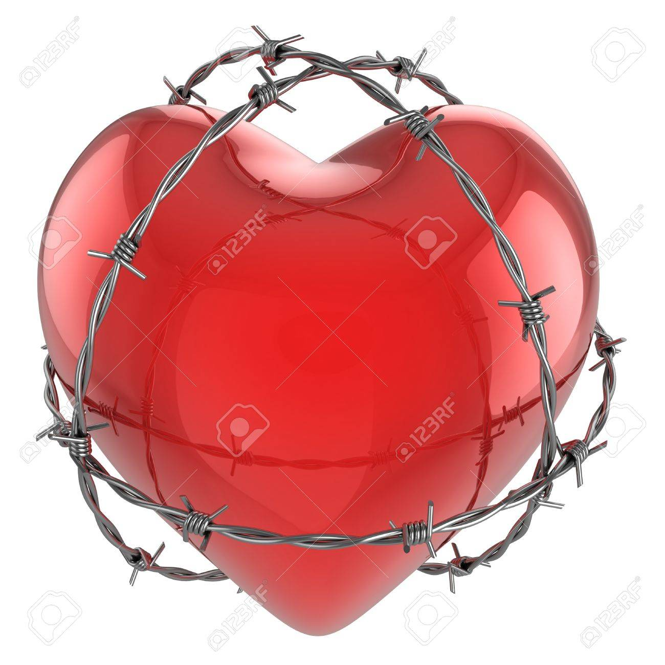 Barbed Wire Surrounded Heart Center Obvod1 Public Circuit Online Simulator Docircuits Red Glossy By 3d Illustration Stock Rh 123rf Com Drawings Wrapped In