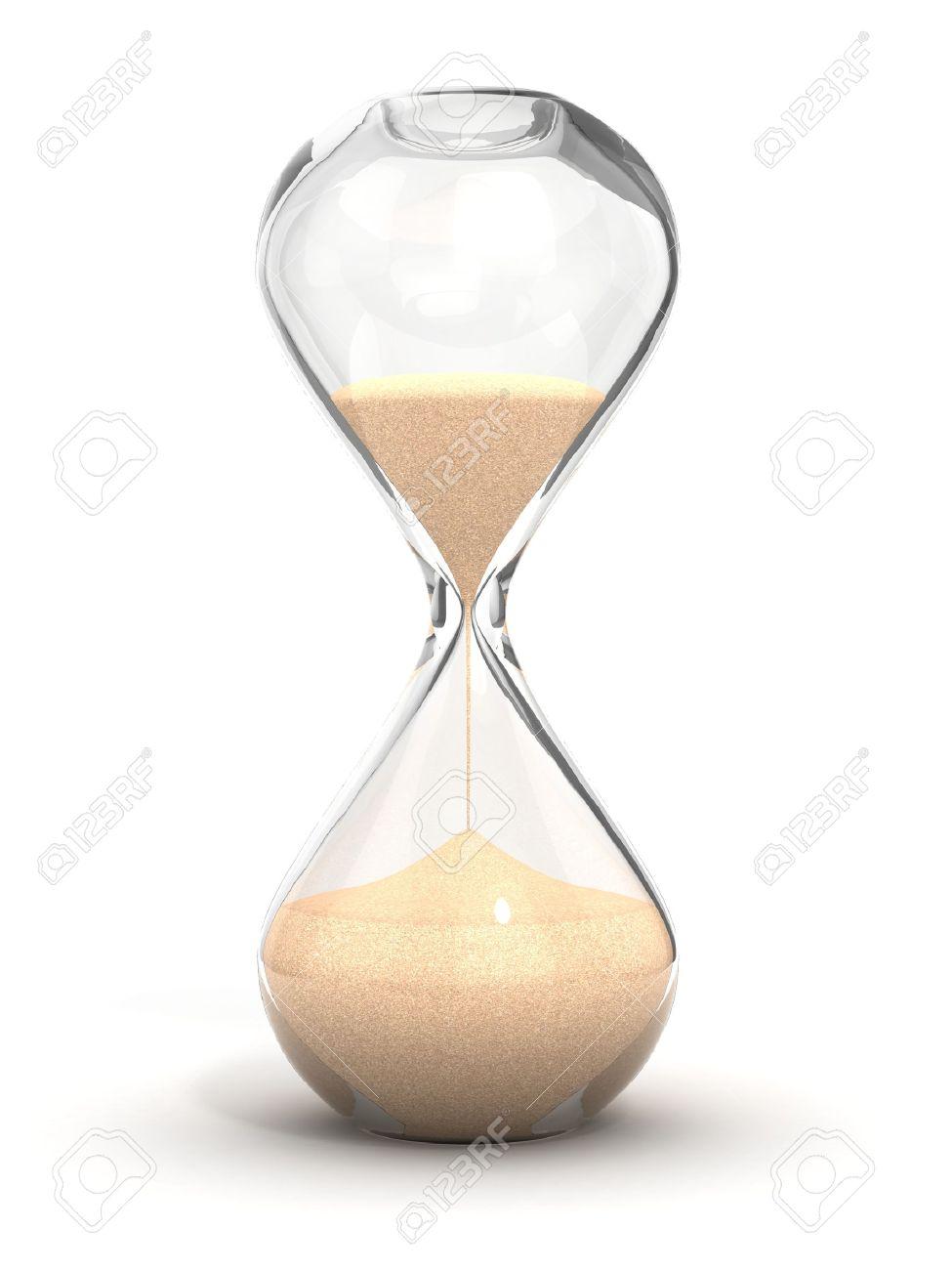 Reloj La Aislado Fondo Blanco 3d De ArenaArena En Ilustración l3uK1JTFc