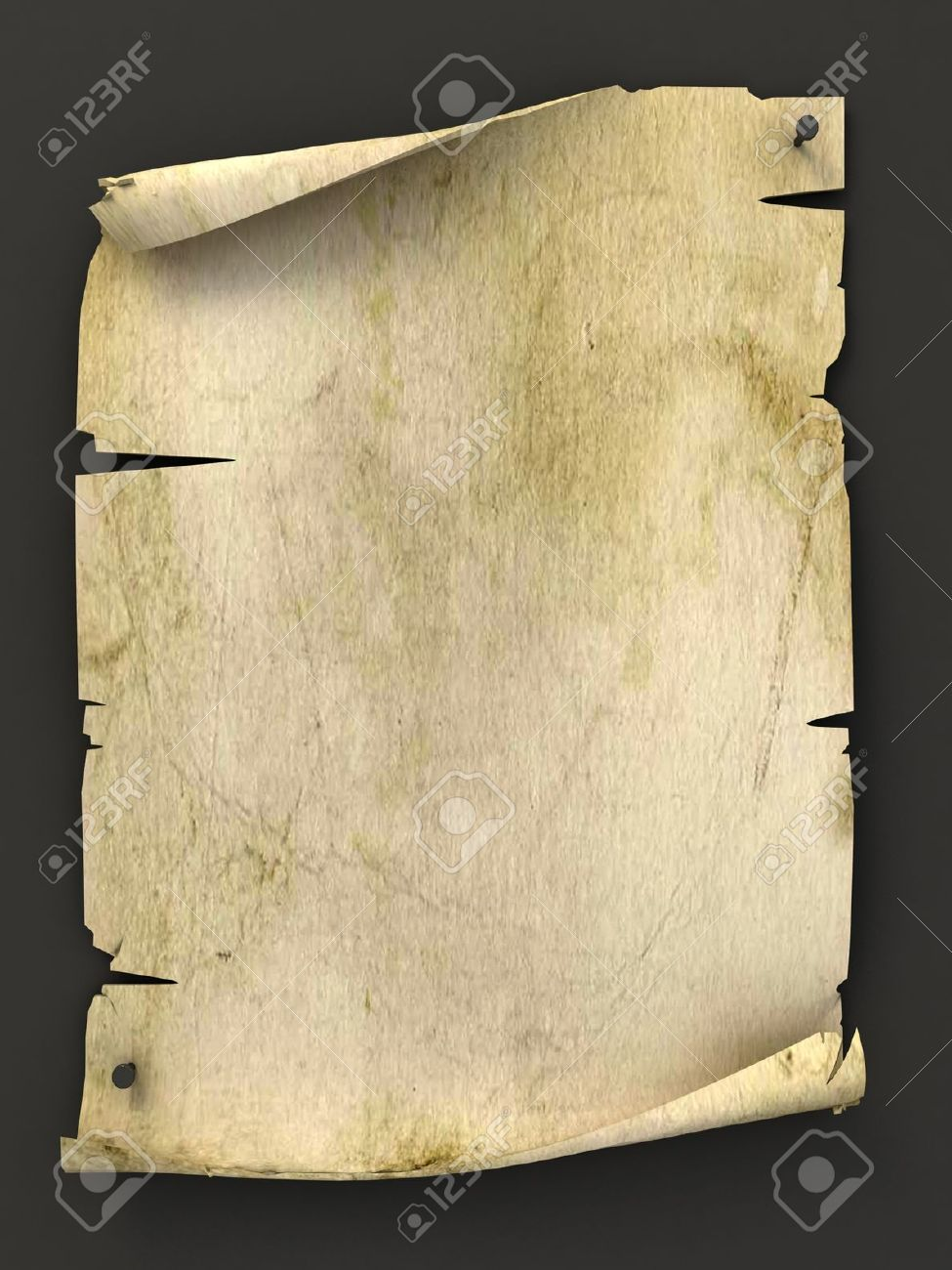 old blank manuscript as background Stock Photo - 12557643
