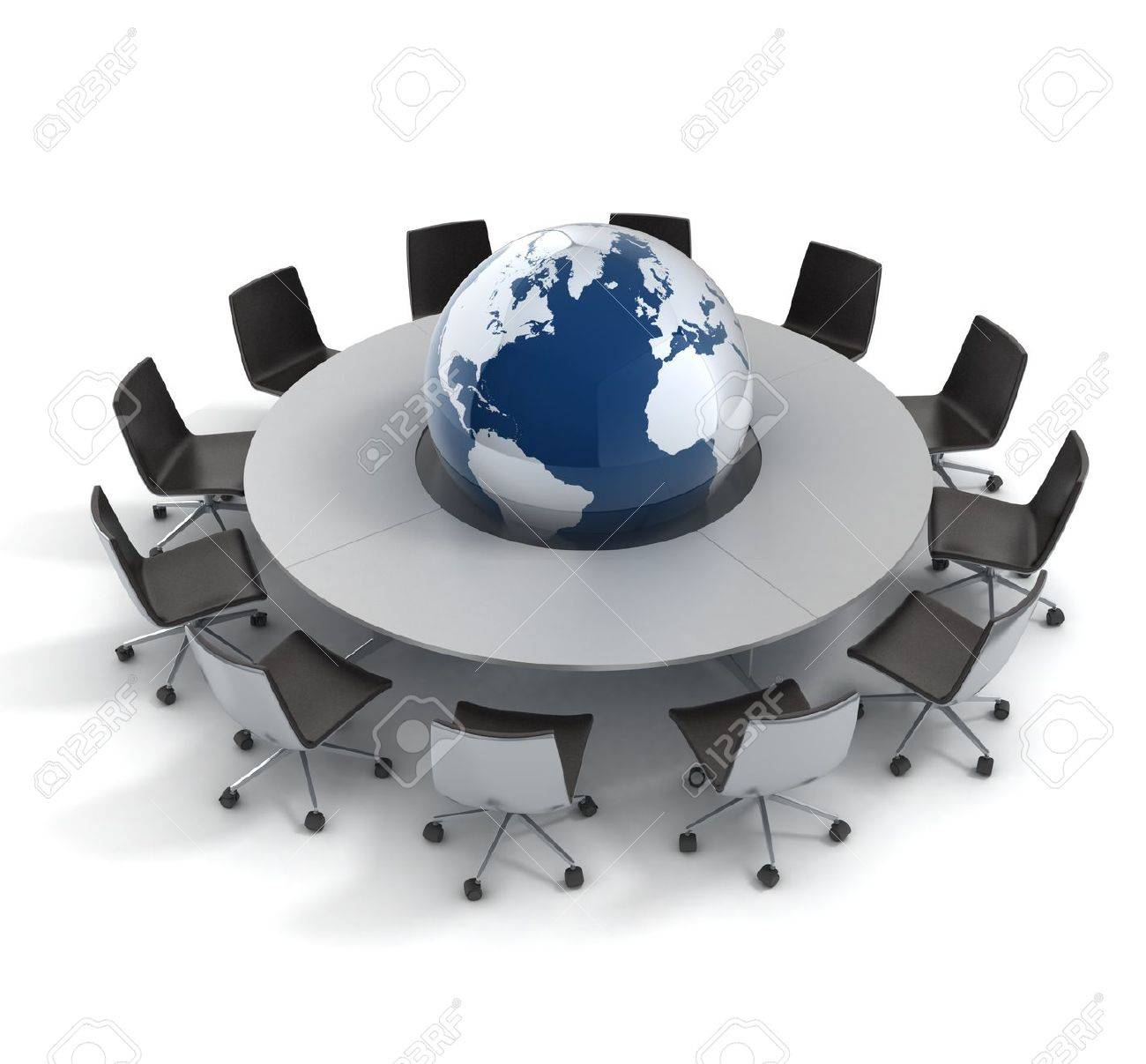 global politics, diplomacy, strategy, environment, world leadership 3d concept Stock Photo - 12557573