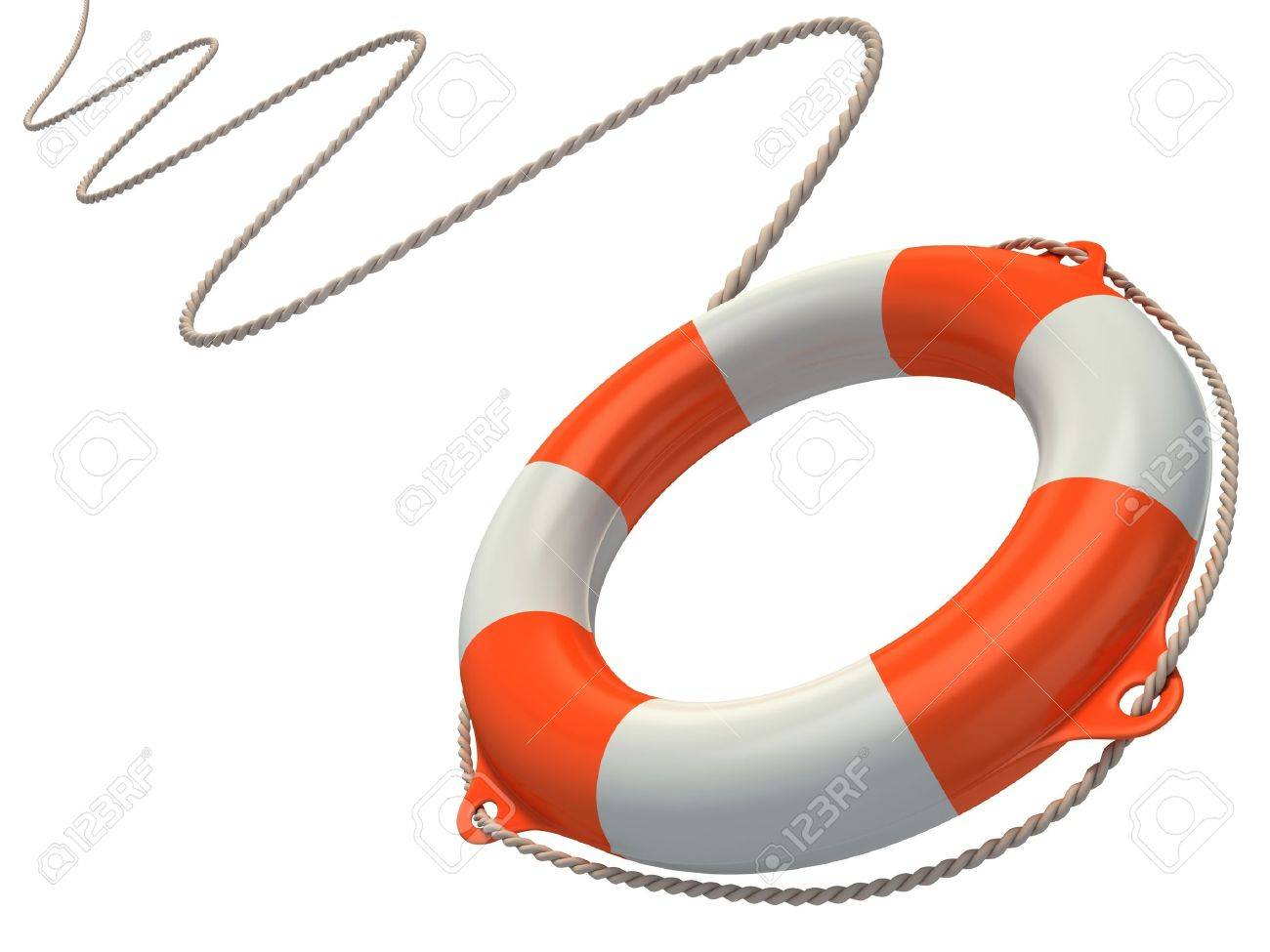 Illustration Of Life Buoy Royalty Free Cliparts, Vectors, And ...