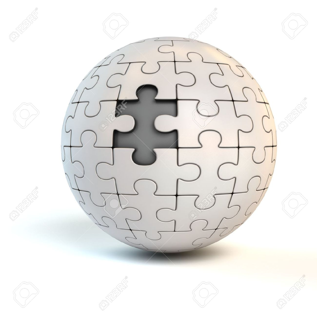 Missing Piece On Spherical Jigsaw