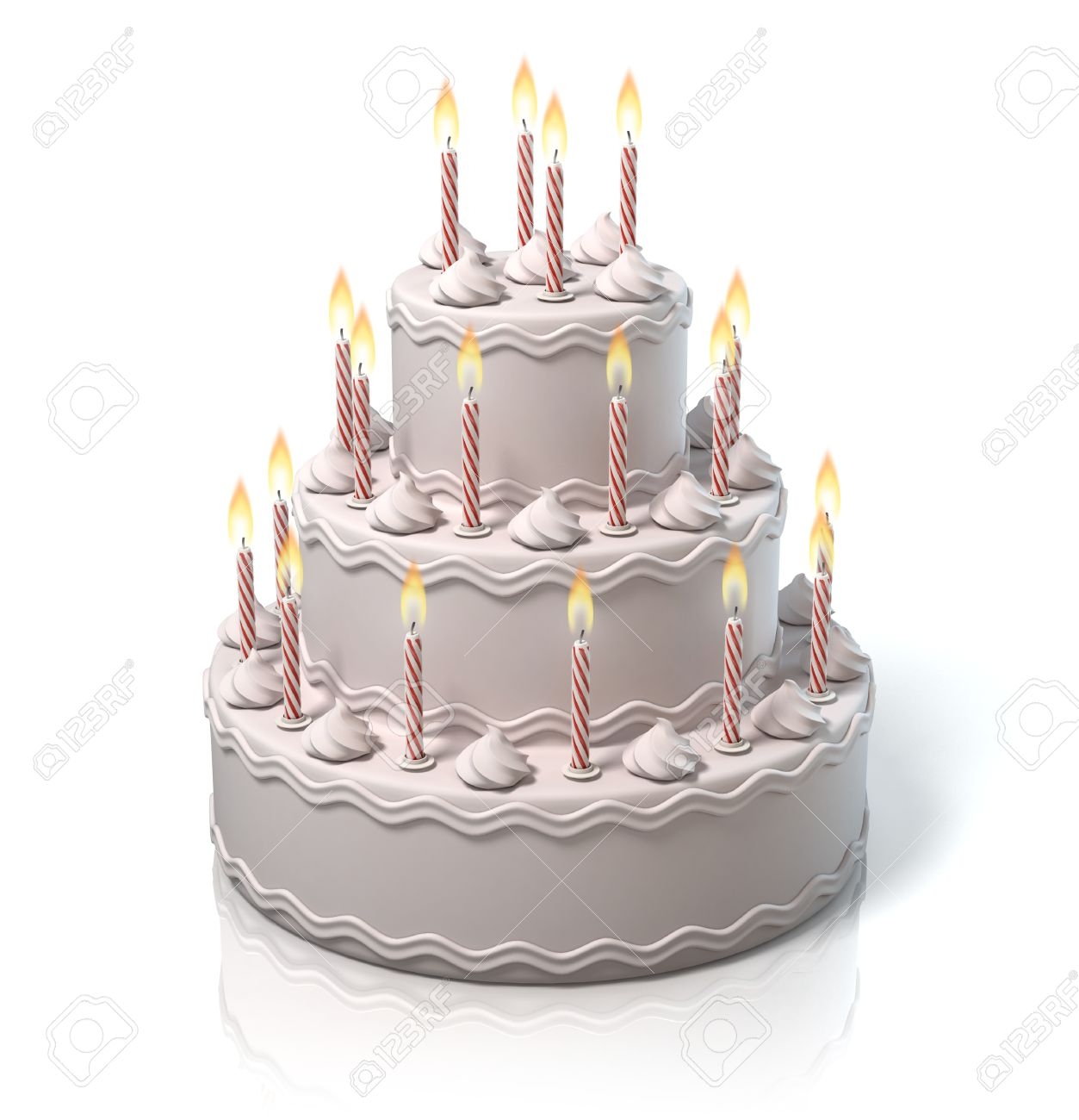 Birthday Cake, Anniversary Cake Stock Photo, Picture And Royalty ...