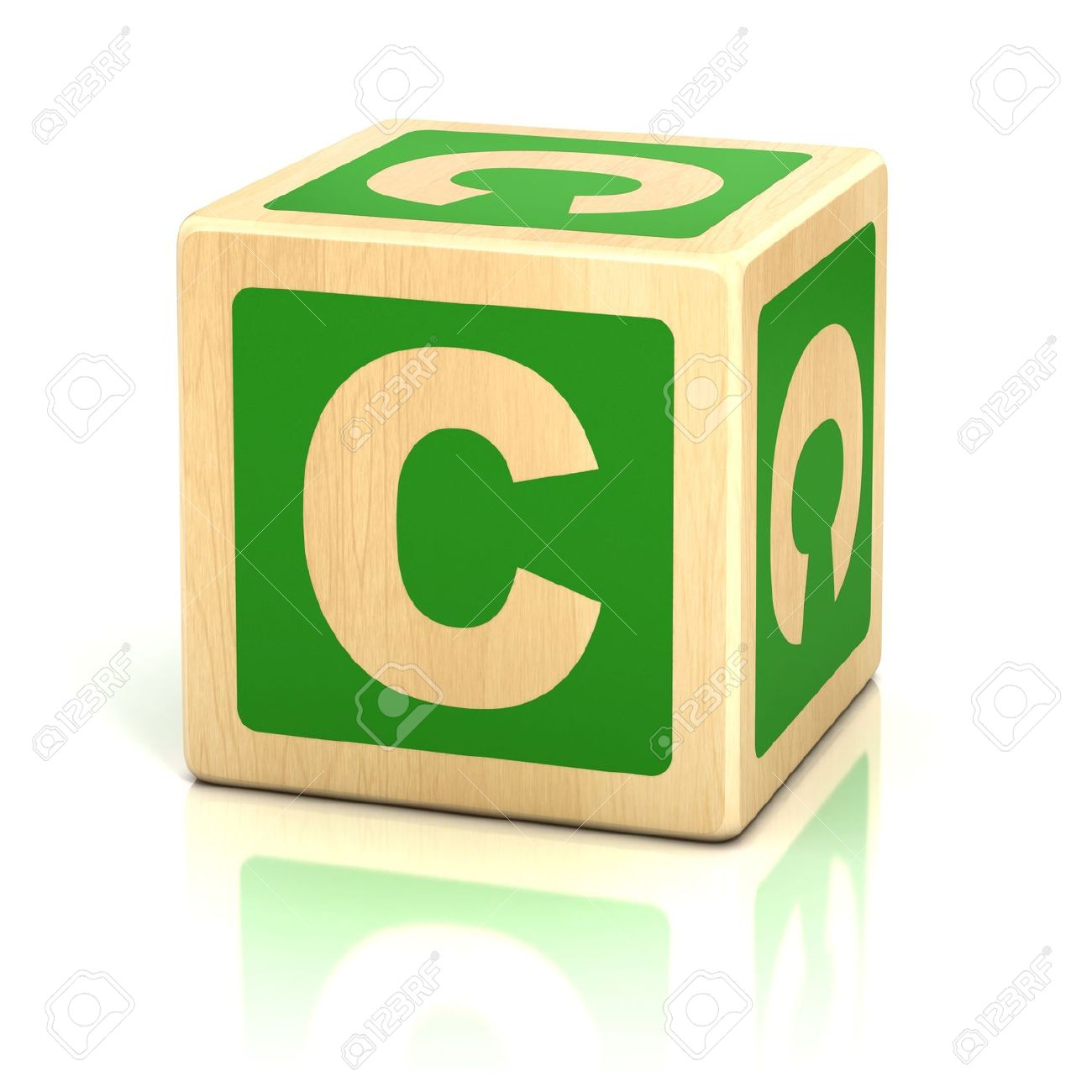 Letter C Alphabet Cubes Font Stock Photo Picture And Royalty Free