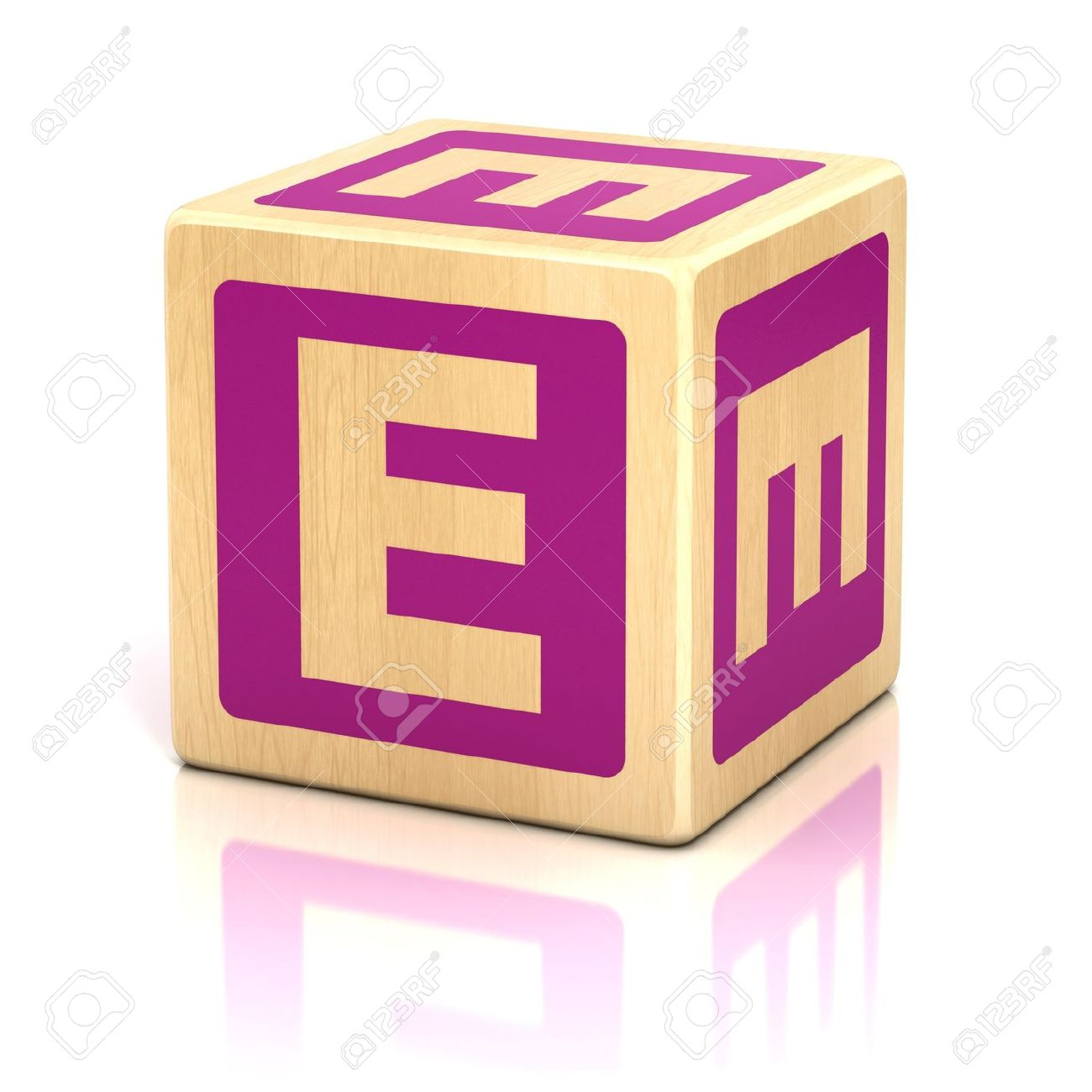 Sitcom allineare Non essenziale  Letter E Alphabet Cubes Font Stock Photo, Picture And Royalty Free ...