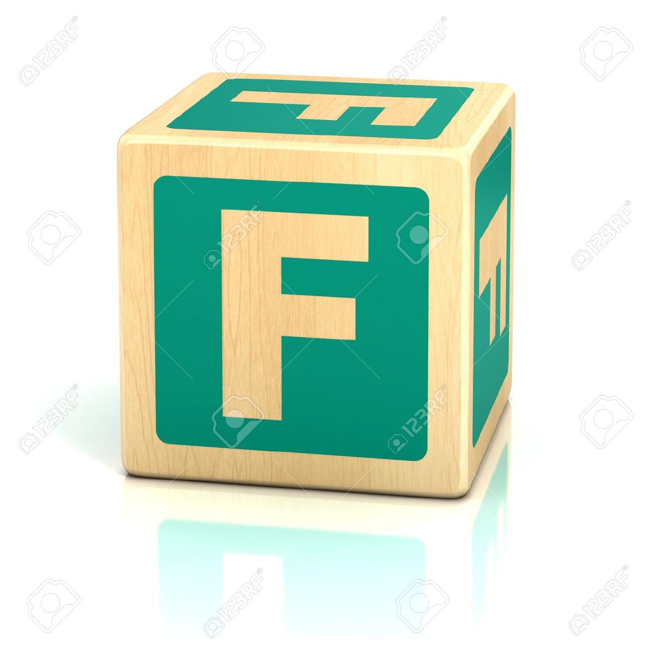 Letter F Alphabet Cubes Font Stock Photo Picture And Royalty Free