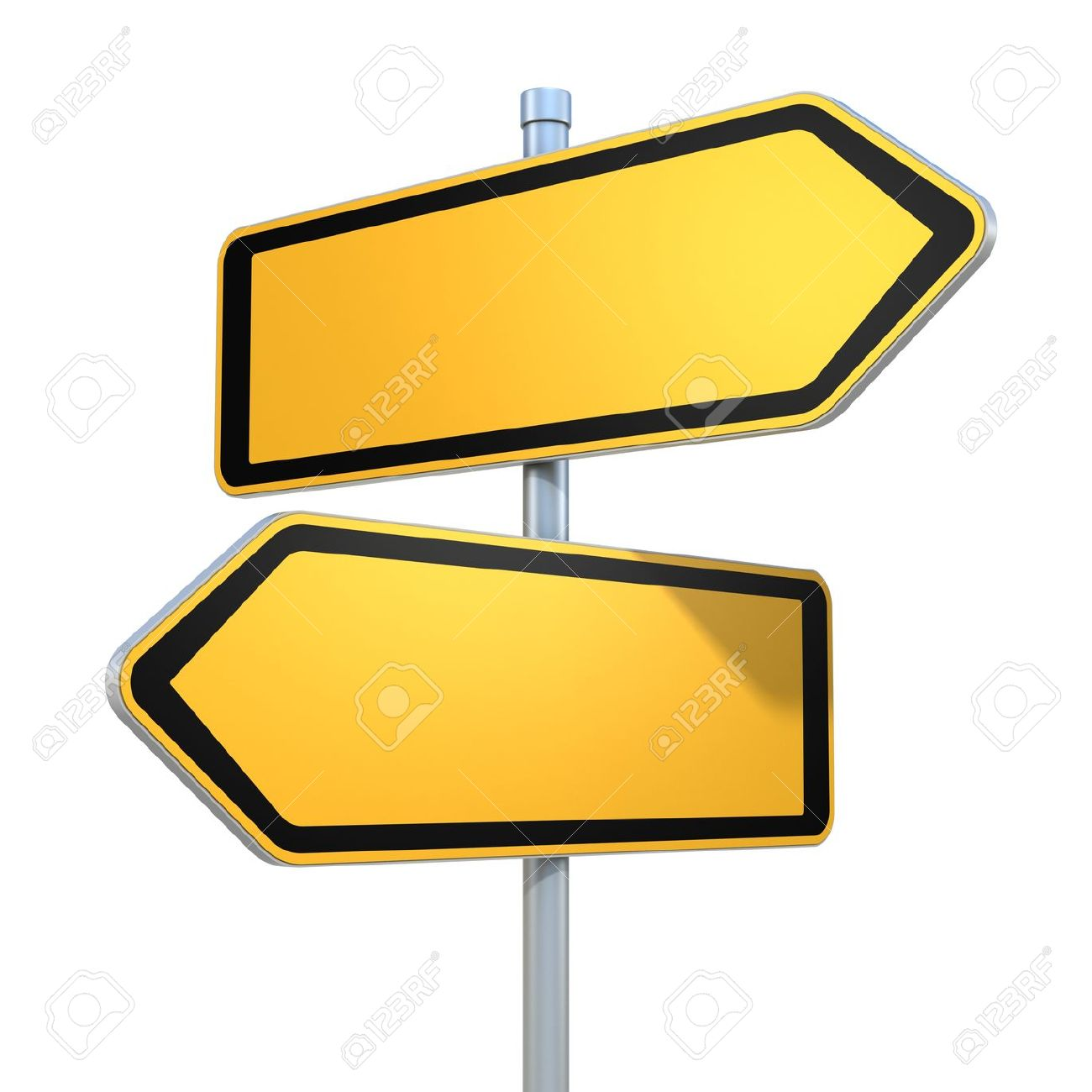 Road signs stock photos royalty free business images two blank road signs pointing in the different directions stock photo biocorpaavc