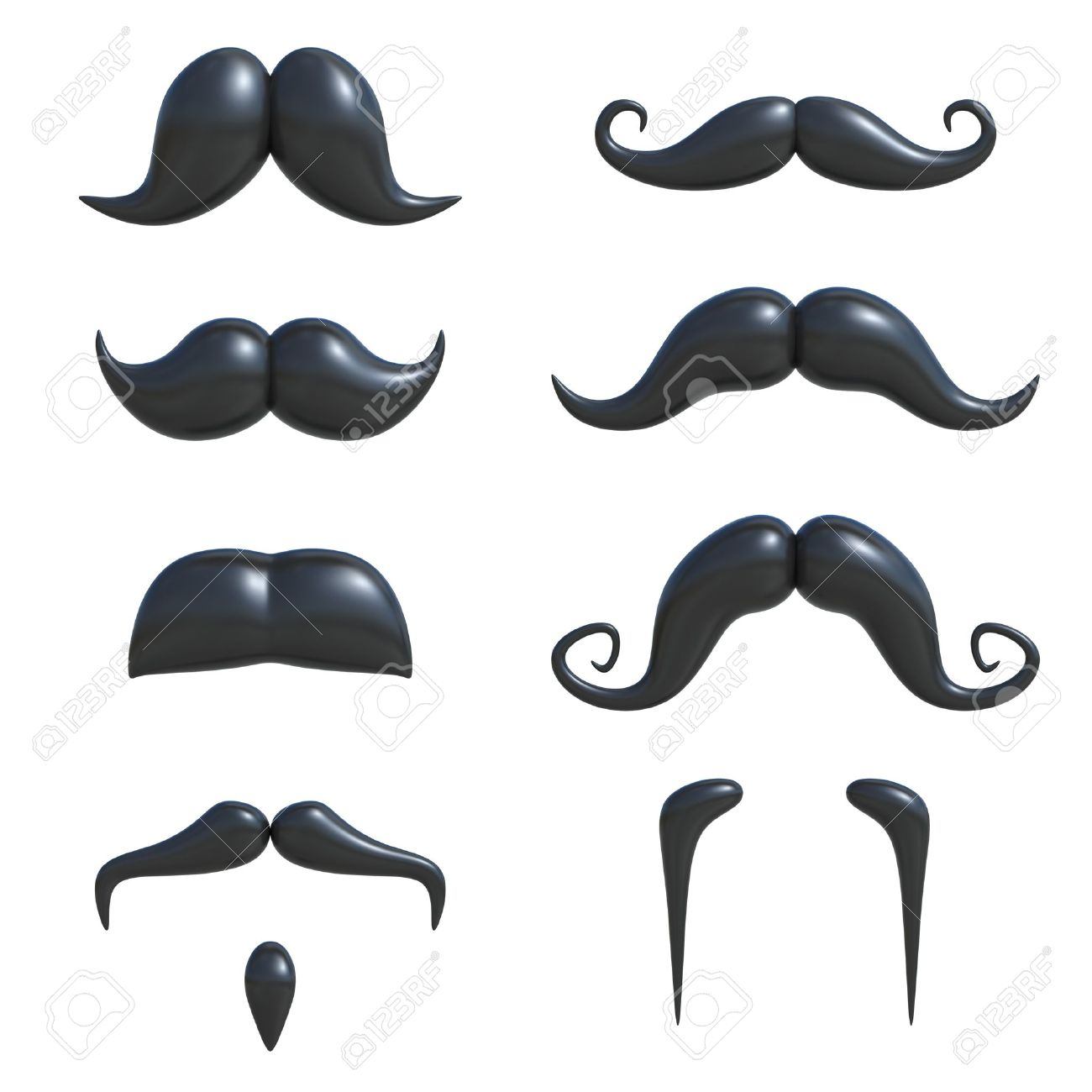 55 404 mustache stock vector illustration and royalty free