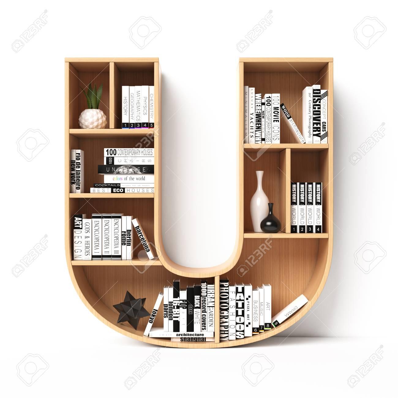 Book Shelves 3d Model