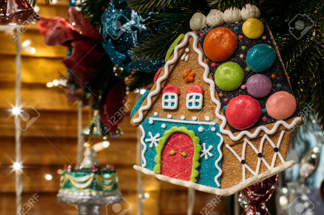 Gingerbread House Christmas Tree Decorations