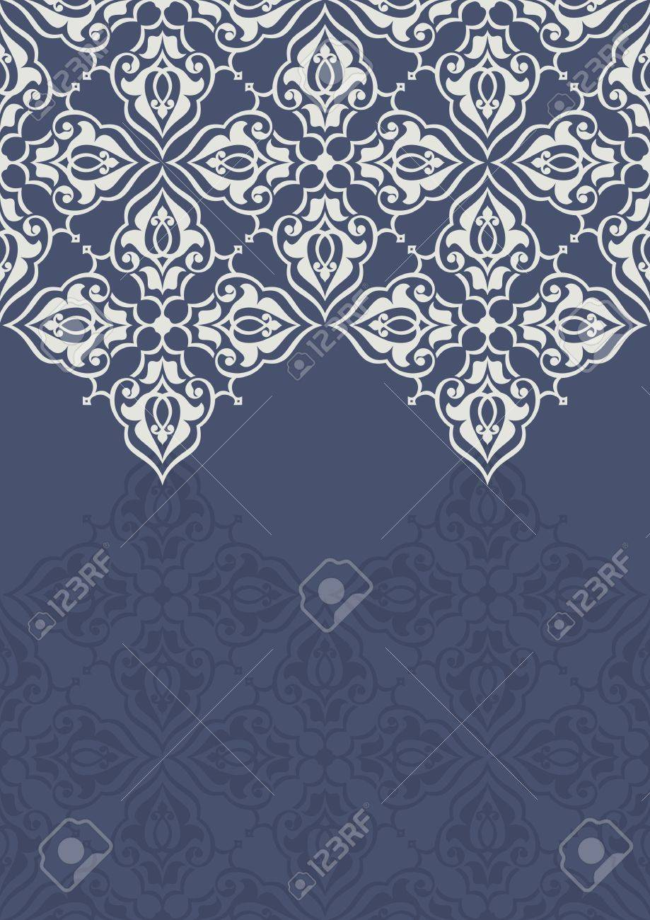 Vintage invitation card with persian pattern 10 eps royalty free vector vintage invitation card with persian pattern 10 eps stopboris Gallery