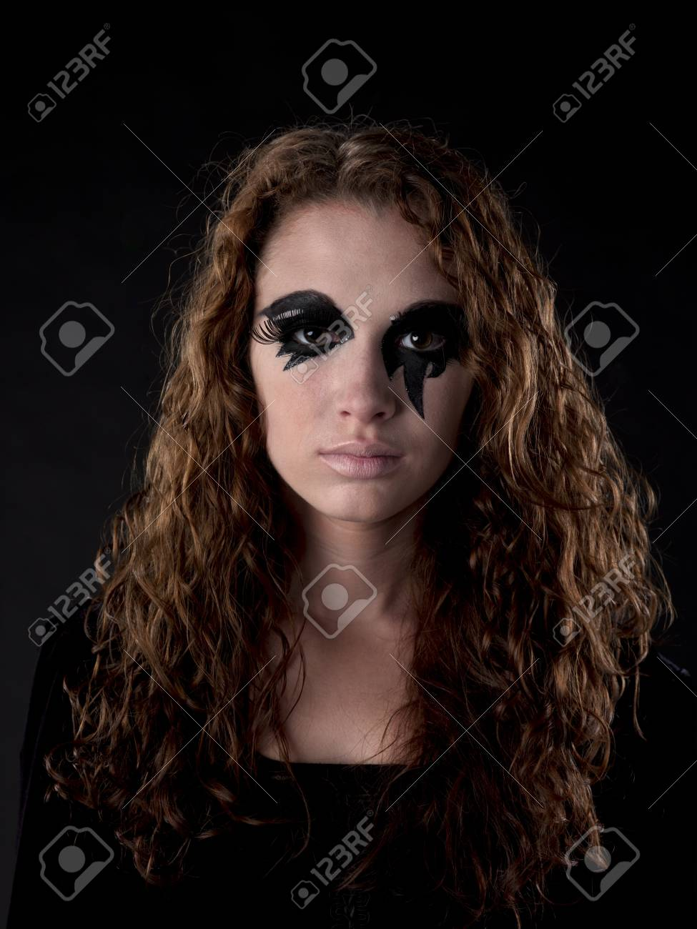 A portrait of a witch as she stars into the camera Stock Photo - 15615815