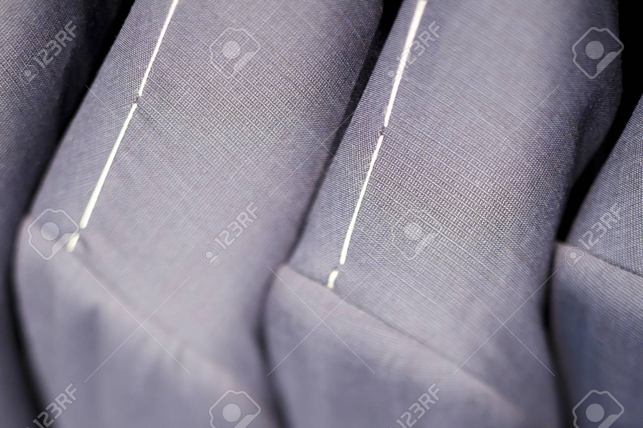 Close-up of grey suits Stock Photo - 16226052