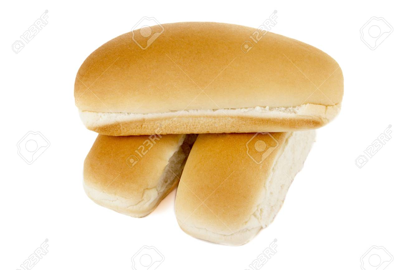 Loaf of bran bread on a white background Stock Photo - 16982608