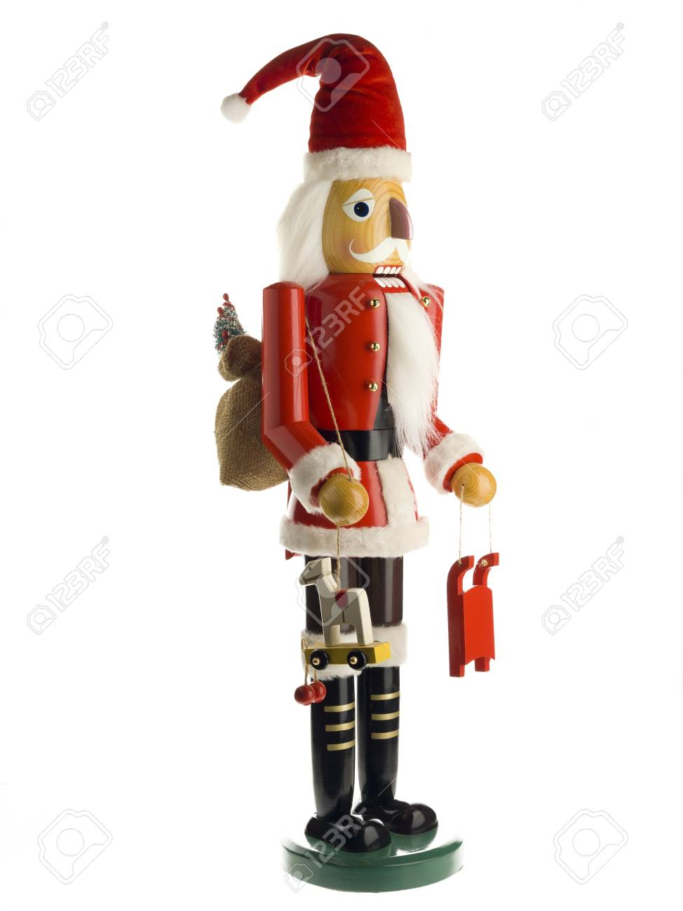 Close-up shot of figurine of a Santa Claus. Stock Photo - 17141064