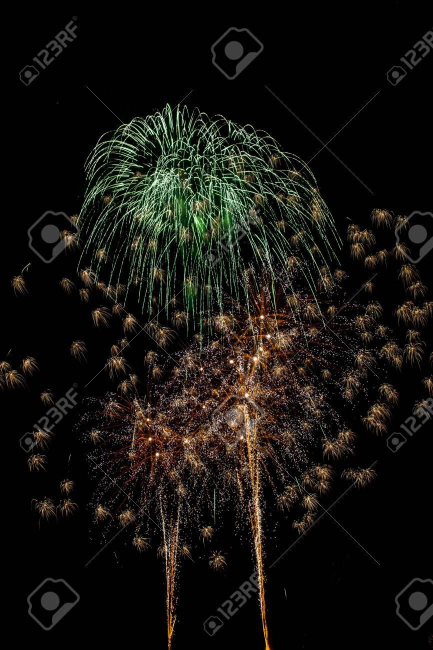 Closeup of fireworks Stock Photo - 17149386