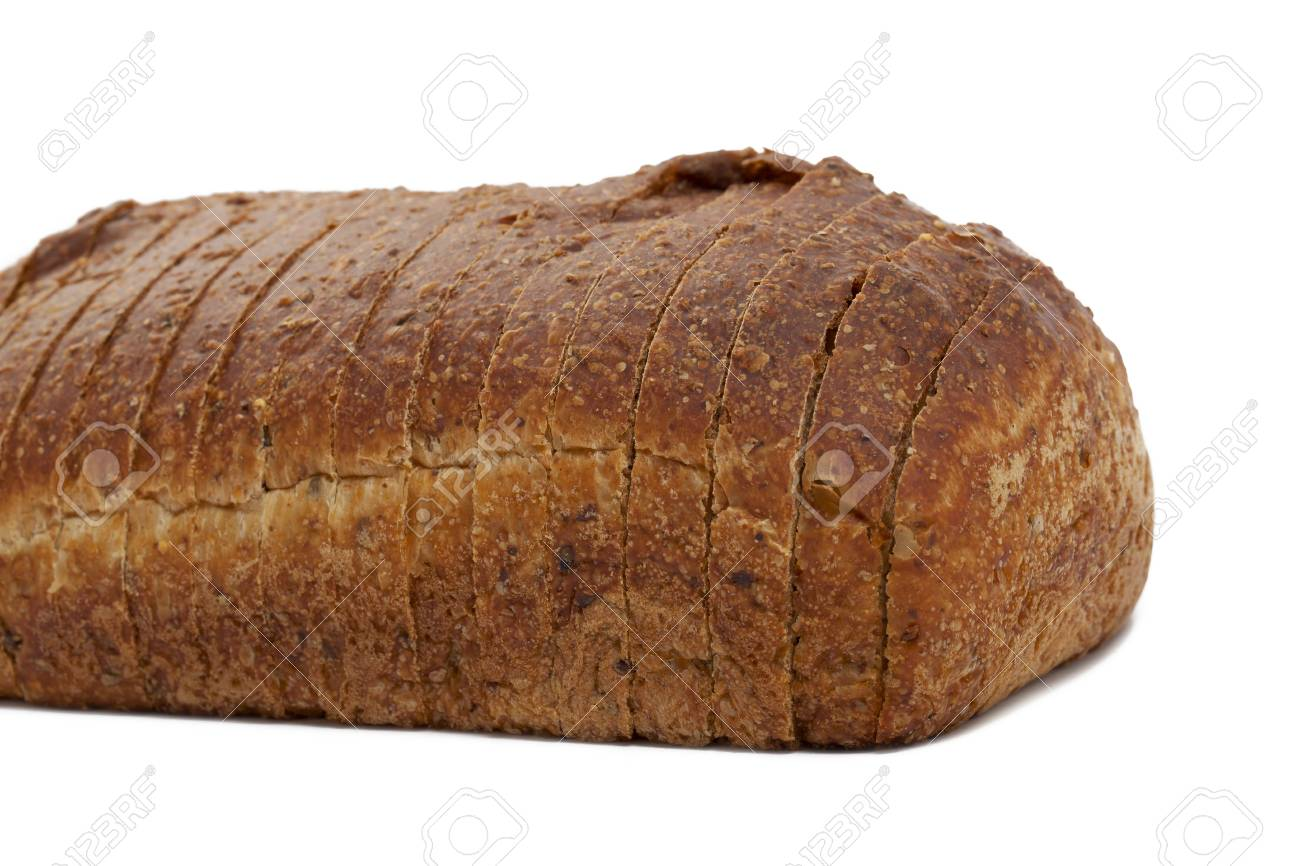 Stock image of Whole wheat loaf of bread Stock Photo - 17153386