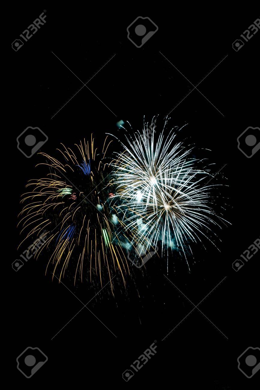 Closeup of fireworks Stock Photo - 17152077