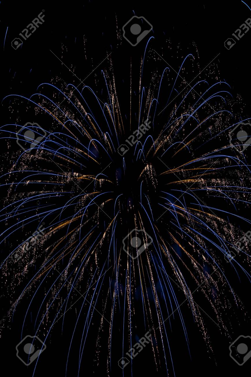 Closeup of fireworks Stock Photo - 17153387