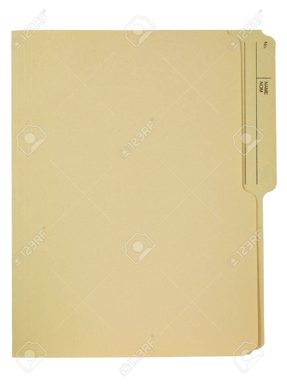 Empty File Folder