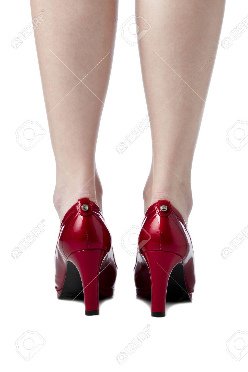 High Heels Back View